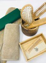 Pettine bambù uomo da taschino