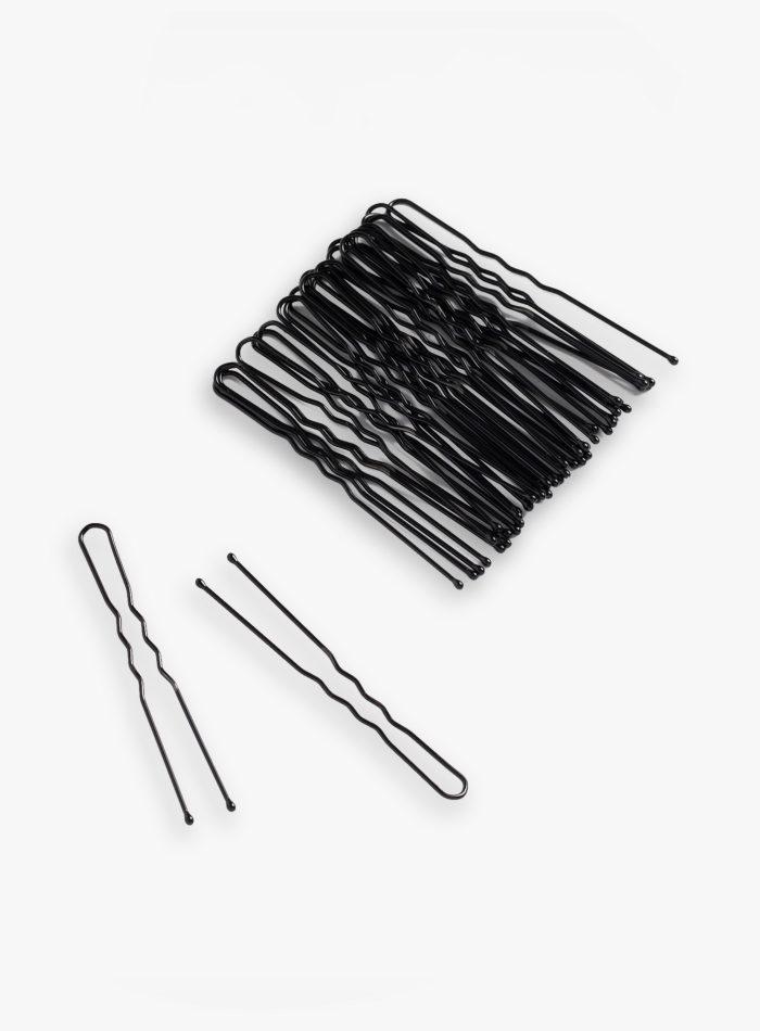 Forcine per capelli nere 25 pezzi