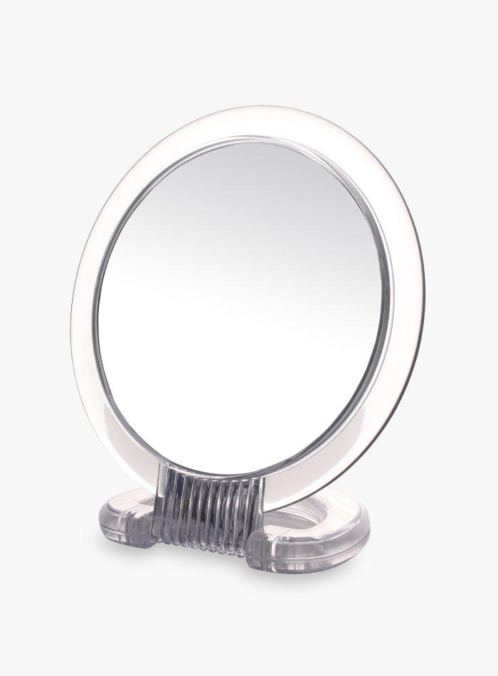 Specchietto da tavolo con aggancio e appoggio orientabile