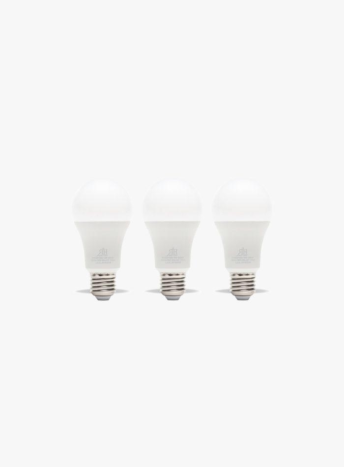 Tris lampadine led 100 watt a goccia calda a+