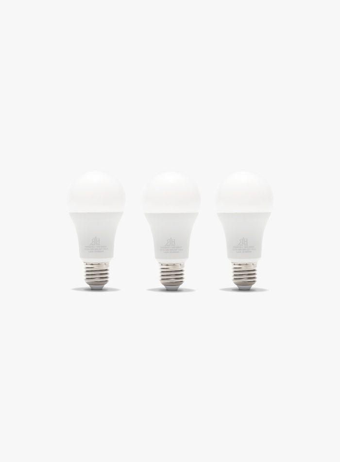 Tris lampadine led 100 watt a goccia fredda a+